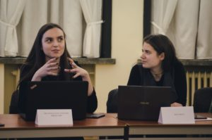Students take the positions of KTU administrative staff for the International Students' Day